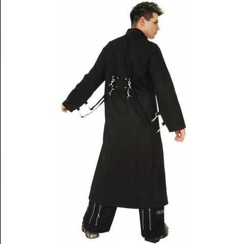 Goth lords delight trench coat