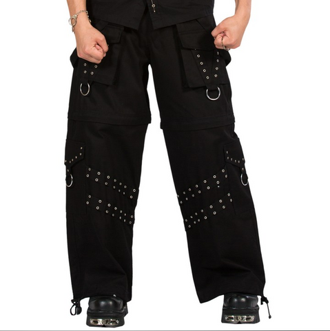 Gothic ebony pants