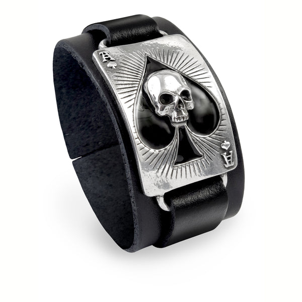 Ace Of Dead Spades Bracelet