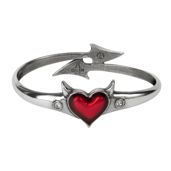Devil Heart Bangle