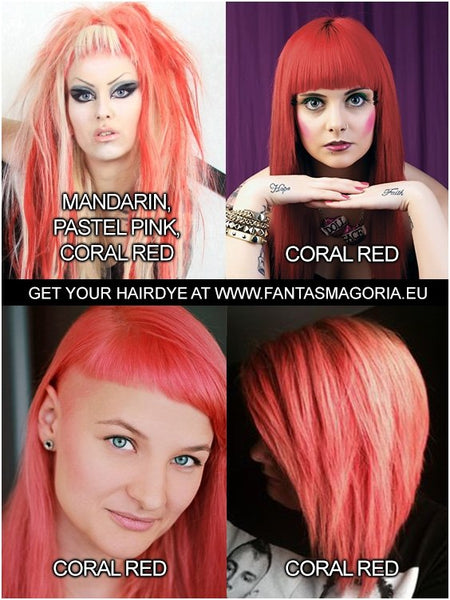 Coloring hair balsam - Coral Red