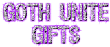 Goth Unite gift cards