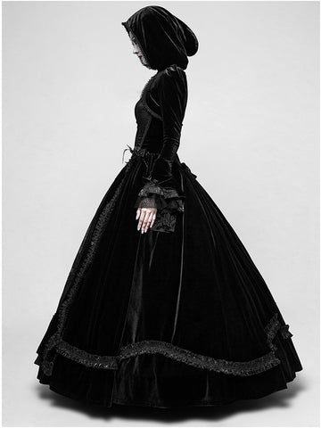 Lady Amaranth Gothic wedding dress