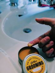 beard balm how to use