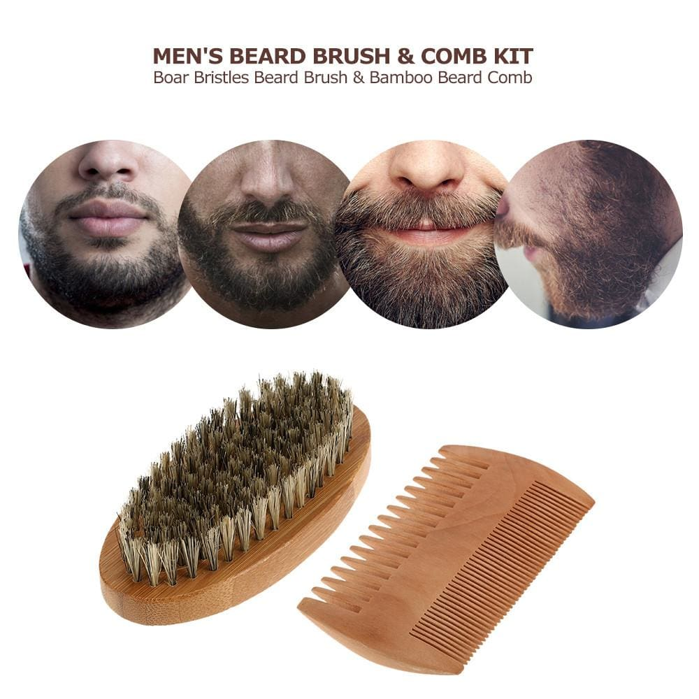 Beard Brush & Beard Comb