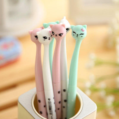 Kawaii Cat Pens -