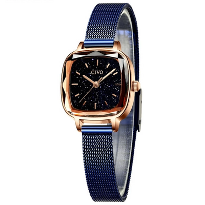 Watches for Women - mesh blue