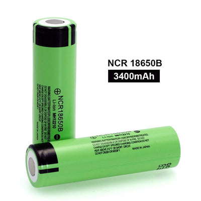 Lithium Rechargeable Battery 3.7 v 3400 mah -