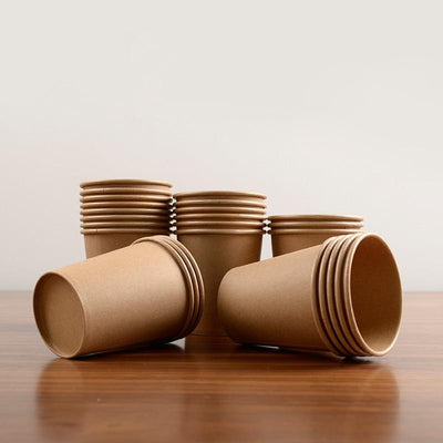 100pcs disposable paper cup -