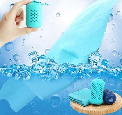Cold quick-drying towel -