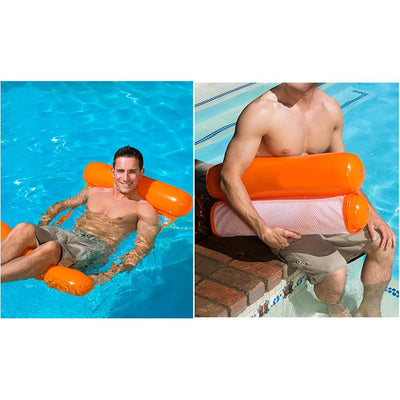 Swimming Pool Foldable Inflatable Floating Chair -