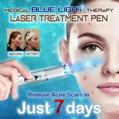 Blue Light Therapy Laser Pen -