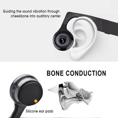 S1P Bone Conduction Headphone -