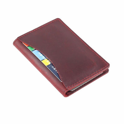 Men's Leather Card Wallet -