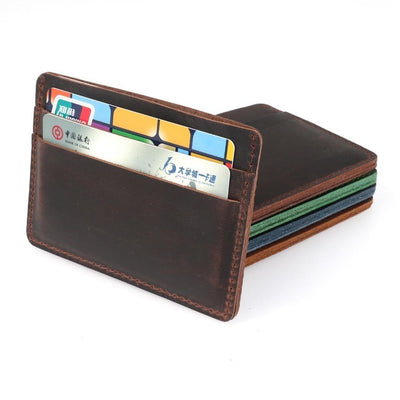 Men's Leather Card Holders -