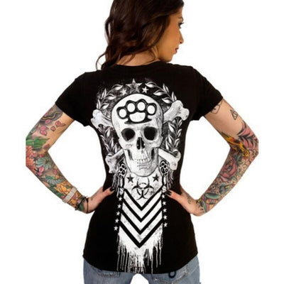 Two Bones Knuckle Tee -