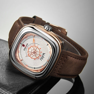 Leather Watch -