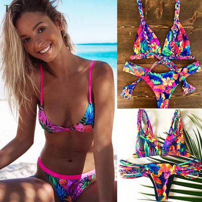 2019 New Sexy Brazilian High Waisted Bikini -