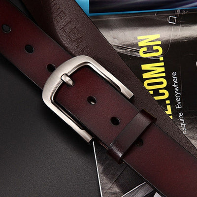 Men's Leather Belt -