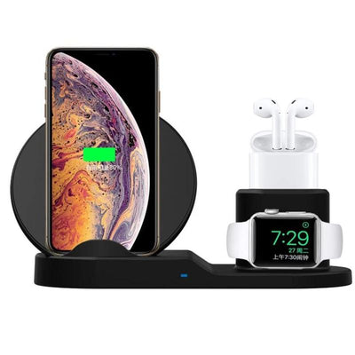 3 in 1 Qi Wireless Charger -