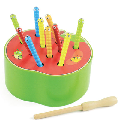 creative wooden toys for children - Apple