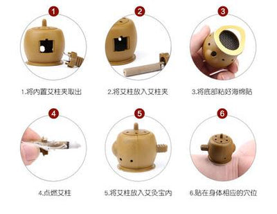 MOXIBUSTION SET -
