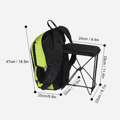 2-in-1 Chair Bag Backpack -