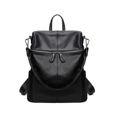 Women's Leather Backpack -