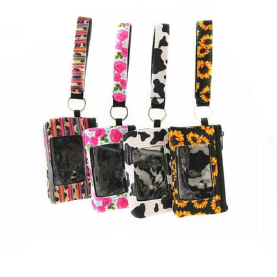 printed wallet for women (4pcs) -