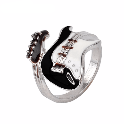 Glazed Guitar Ear Ring