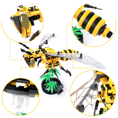 Simulated DIY Bee (236pieces) -