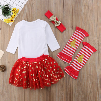 My First Christmas Outfit Set -