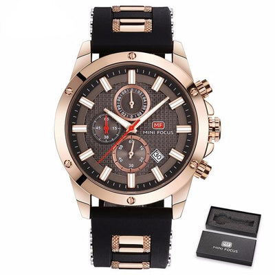 Focus Wrist Watch for Men - Gold