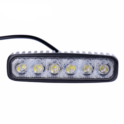 18W 12V LED Vehicle Spotlight Bar -