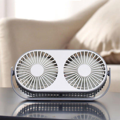 Aromatherapy Mini Desktop Fan -