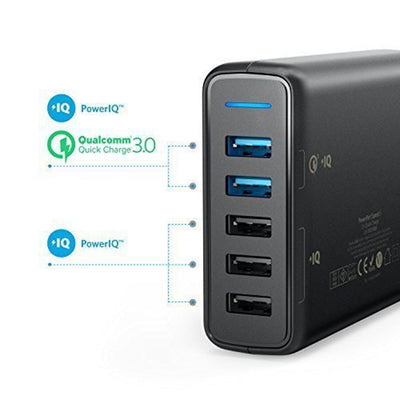 PowerPort Speed 5 with Dual Quick Charge -