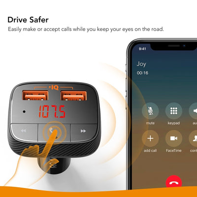 Multi-Functional USB Car Charger -