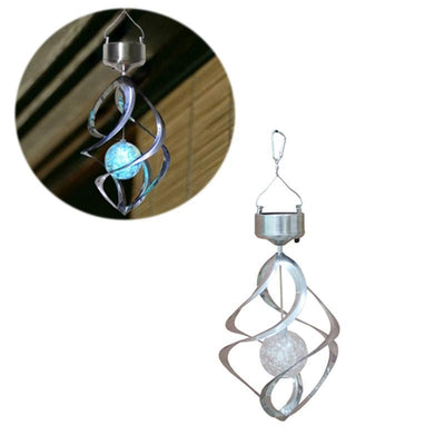 LED Color Changing Solar Wind Chime Light -