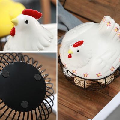 Ceramic Egg Holder -