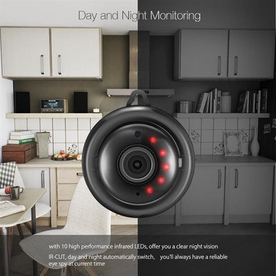 Night Vision Wireless IP Camera -