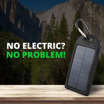 S1P Outdoor Waterproof Solar Powerbank -