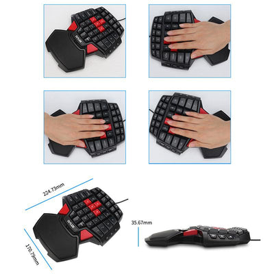 Gaming Keyboard and Mouse Combo Set -
