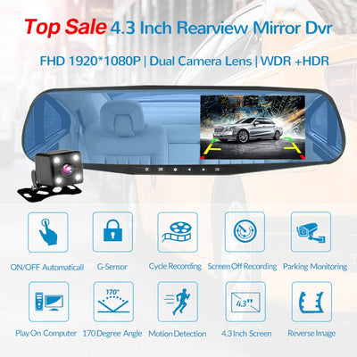 Car Rear View Mirror With Camera -