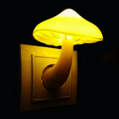 Mushroom LED Night Light -