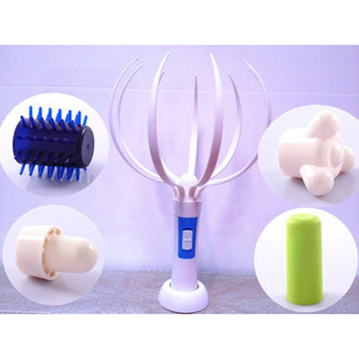 Electric Vibrating Head Massager -