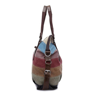 Multi-Color Vintage Shoulder Bag -