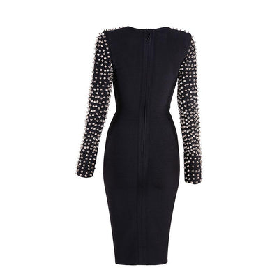 Spike Studded Gothic Dress -