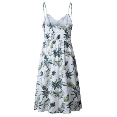 Pineapple Summer Dress -