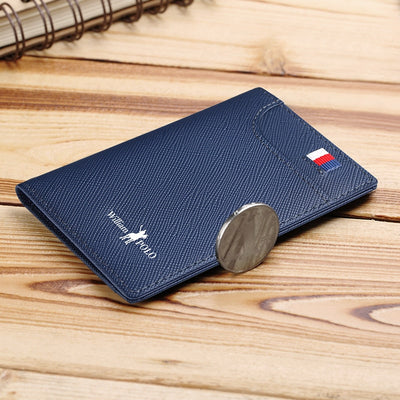 Mens Slim Leather Wallet -