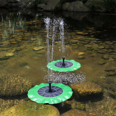 Solar Powered Fountain Pump -